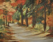 Autumn Road........Sold