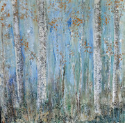 Mystic Birches      30X30
